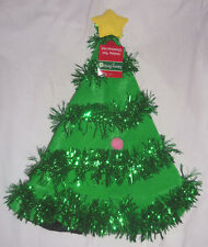 "Merry Brite Christmas Tree Santa Hat 17"" Tall"