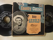 """EDDIE ARNOLD """"Country Classics"""" US Double EP in Pic Cover - RCA Victor EPB 3027"""