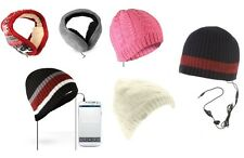 Beanie - Paraorecchie con Incorporato Altoparlanti Cuffie - MP3 Ipod Iphone