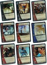 Vs. System Infinite Crisis Foil Parallel Set Single Cards Upper Deck DC Comics