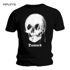 Official T Shirt Black THE DAMNED Punk Rock  SKULL Logo All Sizes
