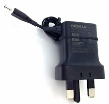 Genuine AC-11x Thin Pin (2mm) Mains Charger with UK 3-Pin Plug for Nokia Phones