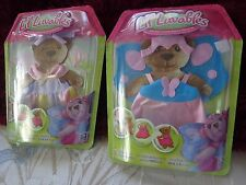 LOT OF 2 LIL LUVABLES PLUSH BEAR OR DOLL CLOTHES = FITS SMALL  BUILD A  BEARS