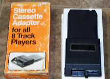 Realistic Stereo Cassette Adaptor for Eight 8 Track Tape Player - Vintage Cars