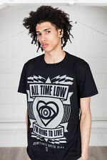 Official All Time Low I'm Dying To Live T-Shirt Unisex Future Hearts Sporco