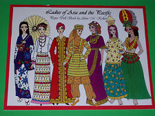 LADIES OF ASIA AND THE SOUTH PACIFIC Paper Doll Book