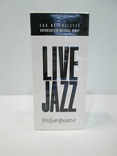 "PROFUMO UOMO 50/100ml O AFTER SHAVE  "" LIVE JAZZ DE YSL - PARIS "" VINTAGE"