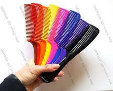 "Hair Comb with Handle Salon Styling Magic Detangler Handle 7.5"" Duralon UK Made"