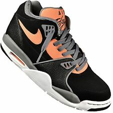 NIKE - BASKETBALL - HERREN - AIR FLIGHT 89 - 009 SCHWARZ ORANGE GRAU NEU