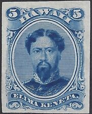 HAWAII #32P3 SUPERB PROOF ON INDIA PAPER RARE