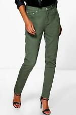 Boohoo Nadia Jean Skinny Taille Haute À 5 Poches pour Femme