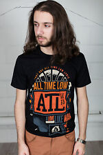 Official All Time Low Volt T-Shirt Unisex Sporco Lavoro Future Hearts Nothing