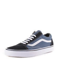 Mens Vans Old Skool Navy Skate Fashion Classic Retro Trainers Shoes Uk Size