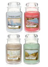 NEW Yankee Candle 'Coastal Living' Large 22oz Jars Scented Candles