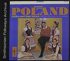 KOBYLINSKI WOJNAR-SENTIMENTAL JOURNEY TO POLAND-CD MONITOR RECORDS NEU