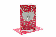 Willow & Rose Pewter Necklace and Card with Envelope, Star Gazing Hare Elephant
