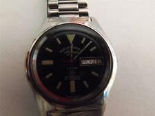 VINTAGE WEST END AUTOMATIC DAY DATE MENS OLD USED WATCH black dail