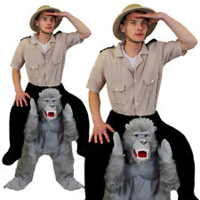 GORILLA PICK ME UP COSTUME ADULTS FANCY DRESS ANIMAL MONKEY UNISEX MENS WOMENS