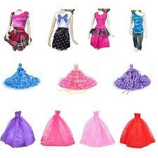 Hot Barbie Doll Fashion Handmade Clothes Dress Different Style For Kids SK