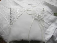 Wedding Ring Cushion Ivory Or White Different Designs Ring Bearer Page Boy