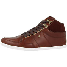 Boxfresh Swapp 3 Premium NCW Leather Suede Sneaker High Top Schuhe brown E13326