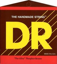 DR Strings Pre-Alloy Phosphor Bronze Acoustic Guitar Strings (Select Gauge)
