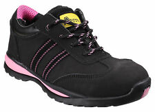 Amblers FS47 Safety Steel Toe Cap Trainers Womens Industrial Work Shoes UK3-9