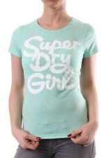 SUPERDRY Camiseta T-Shirt Women - SUPERDRY CHICA - Hot Mint Marga