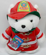 1996 Marshall Field Dayton Hudson Santabear With Bag & Tags