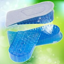 Honeycomb Gel Heel Lifts Height Increase Insoles Shoe Inserts Pads Raise NEW
