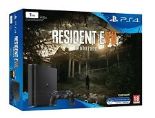 Console PlayStation 4 Sony Ps4 Slim 1TB + Resident Evil 7 Biohazard