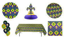 Mardi Gras Party in a Box or Party Ware Separates Celebration fnt