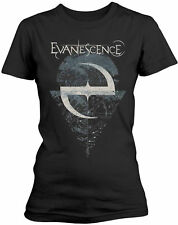 EVANESCENCE AMY LEE Space Map Lost Whispers WOMENS GIRLIE T-SHIRT OFFICIAL MERCH