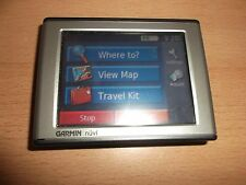 Garmin nüvi 350 GPS SAT NAV WITH UK, ROI & EUROPEAN MAPS IN GOOD CONDITION