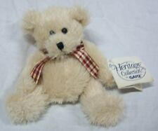 GANZ Heritage Collection MARTIN TEDDY BEAR W/ BOW 5