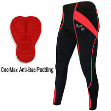 Mens Cycling Tights Trousers Winter Leggings Cold Weather Tights ANTI-BAC PAD