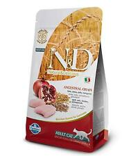 Farmina N&D low Ancestral Grain Adult Pollo e melograno per gatti