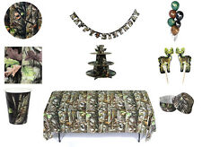 Green Camo Party in a Box or Party Ware Separates - Birthday Decorations  fnt