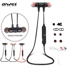 Awei A920BL Wireless Bluetooth 4.1 Sport Stereo Headset Noise Earbuds Headphones