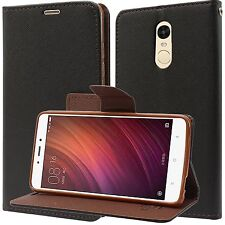 New Mercury Fancy Flip / Wallet / Diary Cover Case for Xiaomi Redmi Note 4