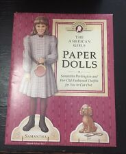 Pleasant Company The American Girls Paper Dolls Samantha 1904 With Jip