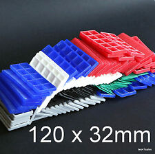 120 Mixed Flat Double Glazing Glass Packers Spacers Window Frame Shim Kitchen