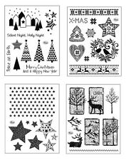 VIVA DECOR Clear Stamps PAPER WORLD Silikon Stempel Christmas WEIHNACHTEN kp