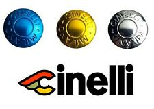 Pair Cinelli Milano Handle Bar Plugs Retro Anodized Metallic Finish End Caps