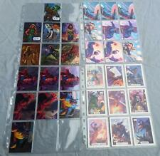 Marvel Masterpieces Trading Cards  Choose from a selection of Chase Insert Cards