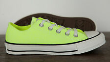 NUOVO CONVERSE Chucks All Star Low BUE CT NEON GIALLO Sneaker 136585c