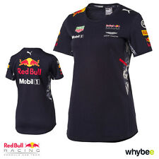 New! 2017 Red Bull Racing Formula One Ladies Official Puma Team T-Shirt Womens