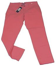 Tommy Hilfiger Jeans Hose Chino Janet Classics Baumwolle Rosa Lachs Grösse 38