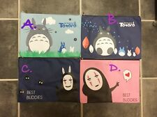My Neighbour ToToRo Spirited Away No face Studio Ghibli A4 folder document Holde