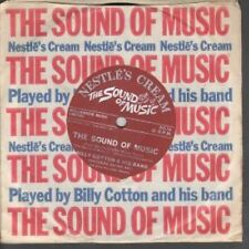 "BILLY COTTON AND HIS BAND Sound Of Music 7"" VINYL UK Nestle's Cream 1965 B/W My"